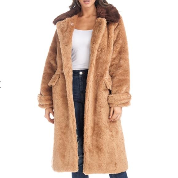 TOV Holy Los Angeles Faux Fur Coat